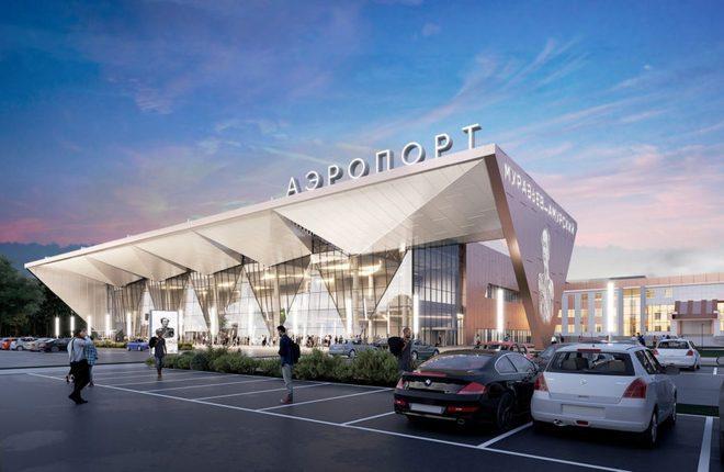 проект нового терминала аэропорта Благовещенска