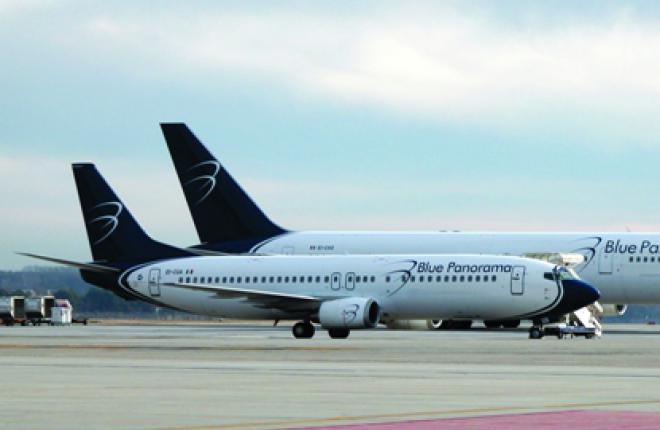 Авиакомпания Blue Panorama открывает рейсы из Рима и Палермо в Москву
