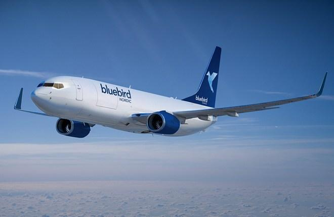 Bluebird Nordic грузовой 737-800