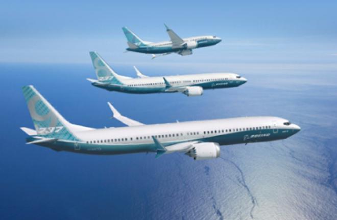 Boeing по итогам 2012 года получил заказы на 1203 новых самолета