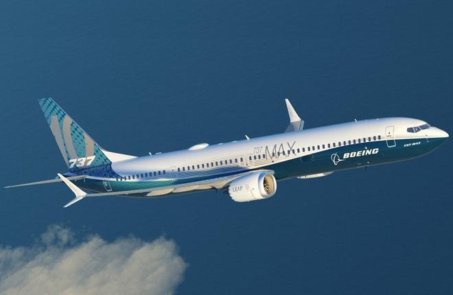 Самолет Boeing 737MAX-10