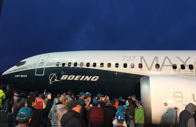 Самолет Boeing 737MAX-8