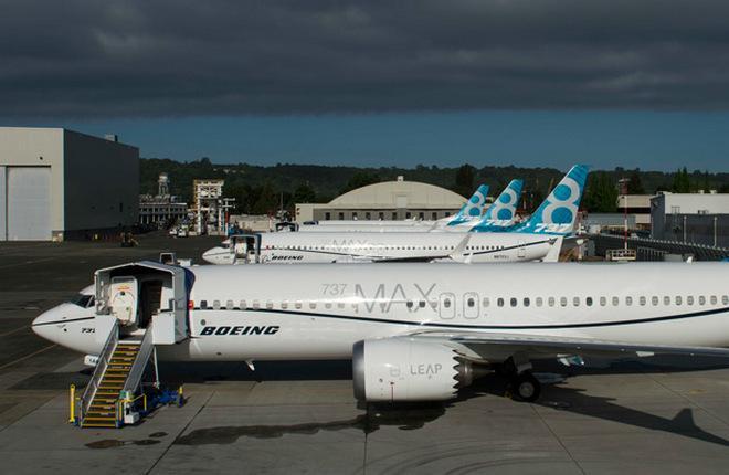 Самолеты Boeing 737MAX-8