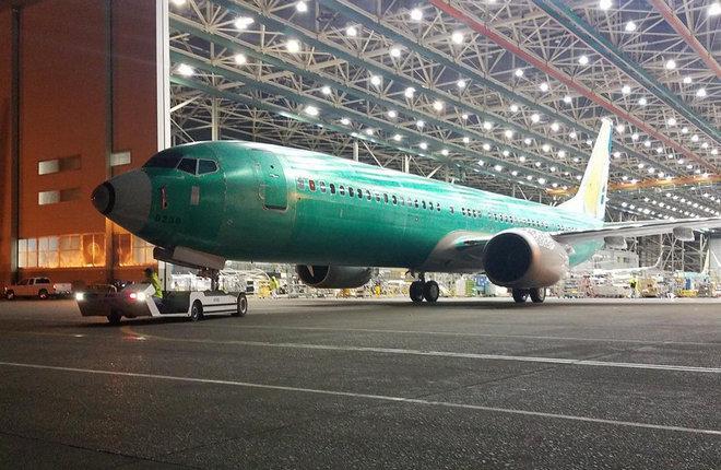 Самолет Boeing 737MAX-9