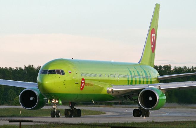 Самолет Boeing 767-300 авиакомпании S7 Airlines