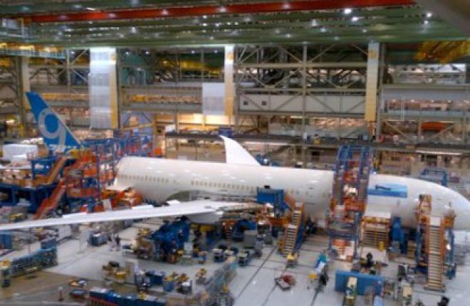 Авиастроитель Boeing начал сборку первого самолета Boeing 787-9
