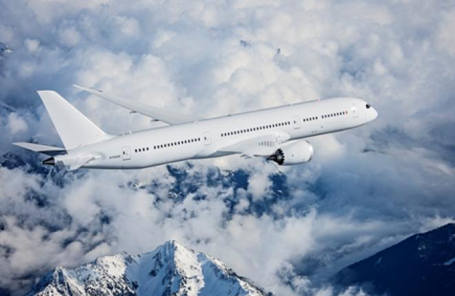 Третий Boeing 787-9 присоединился к программе летных испытаний