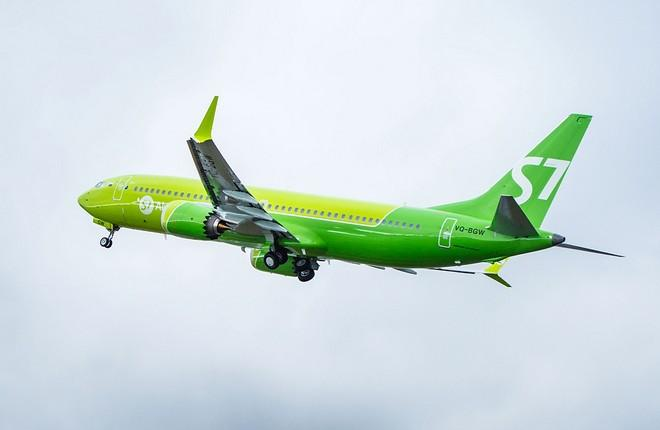 самолет Boeing 737MAX S7 Airlines