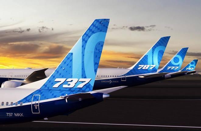 кили самолетов Boeing