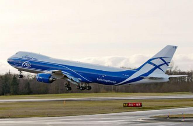 Boeing 747-8 Freighter сертифицирован в России и СНГ