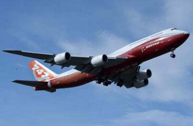 Самолет Boeing 747-8 Intercontinental готов к сертификации