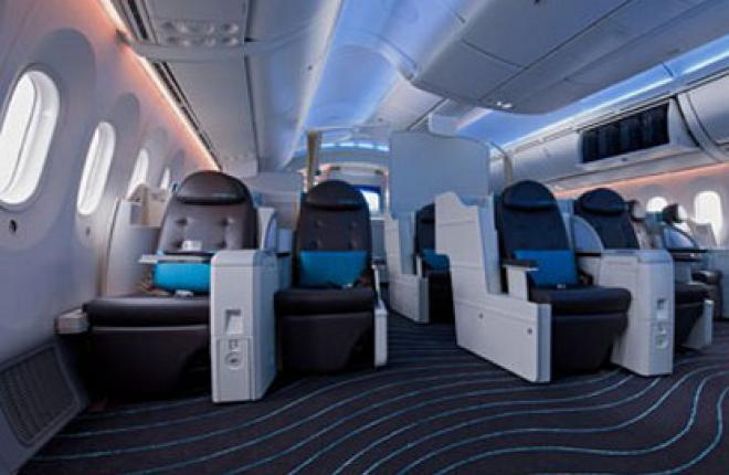 """Пассажиры мечтают принять душ на борту """"Лайнера Мечты"""" Boeing 787"""