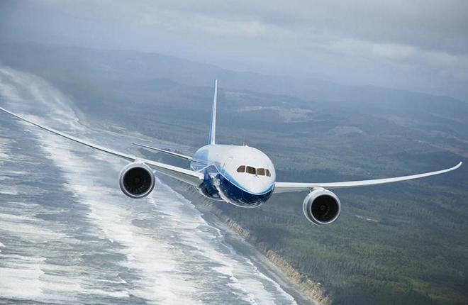 самолет Boeing 787