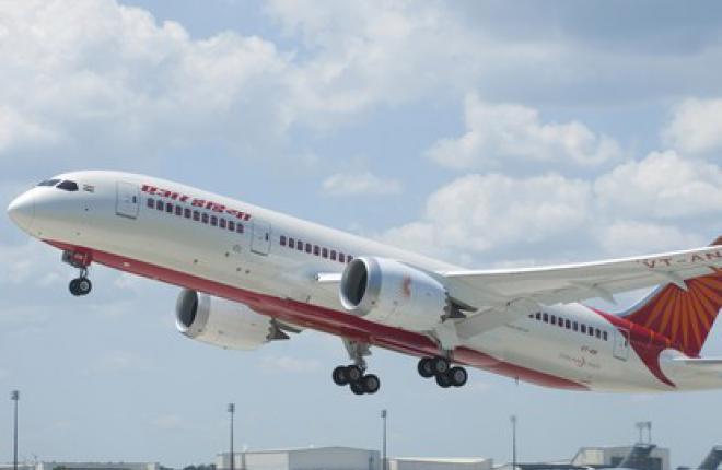 Air India получила первый Boeing 787