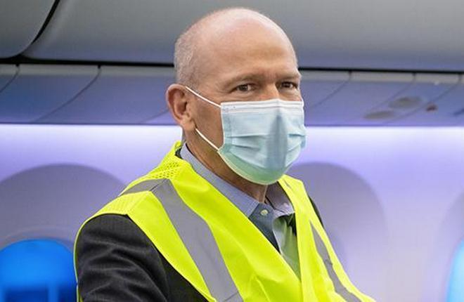 Президент Boeing Дэвид Калхун