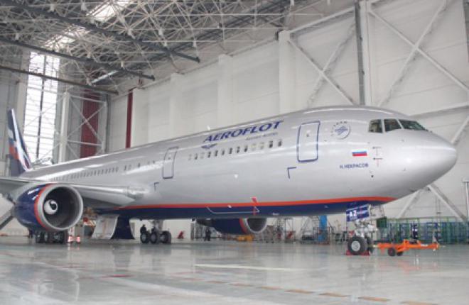Компания Boeing Shanghai подписала соглашение о техническом обслуживании самолет