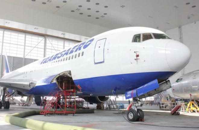 "Boeing Shanghai проведет C-Check трех самолетов Boeing 767 ""Трансаэро"""