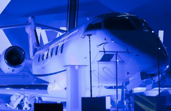 Компания Bombardier поставила 400-й бизнес-джет Challenger 300 российской компан