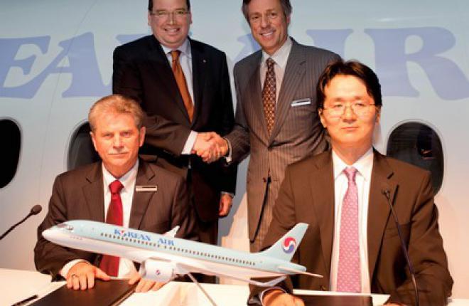 Авиакомпания Korean Air подтвердила заказ на самолеты Bombardier CSeries