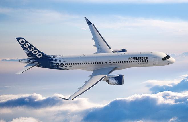 Самолет Bombardier CS300