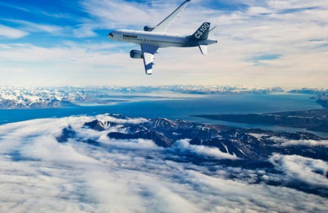 Bombardier готовится к первому полету CS100