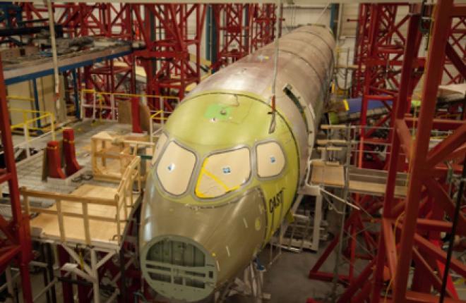 Bombardier начал сборку первого самолета CSeries