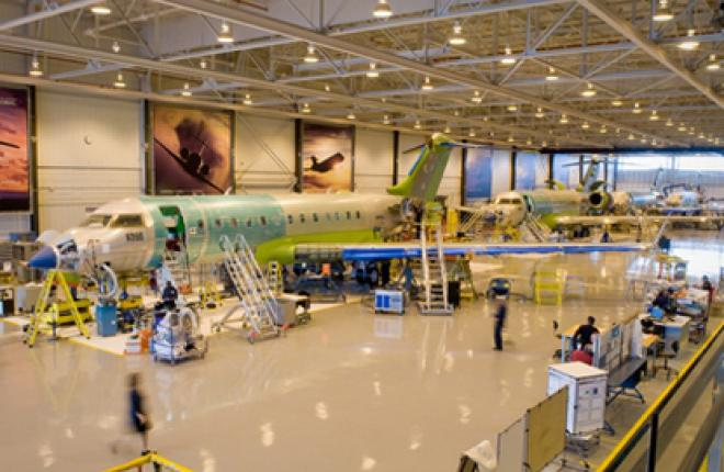 Прибыль Bombardier Aerospace в III квартале 2011 года составила 2,3 млрд долл.
