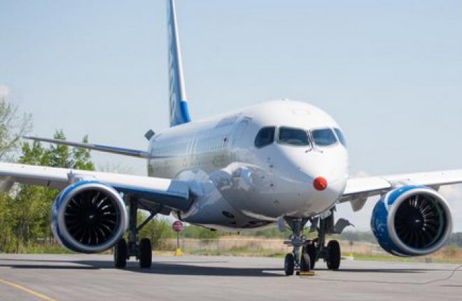 Pratt & Whitney исправили двигатель для Bombardier CSeries