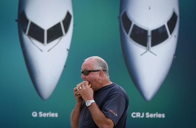 Самолеты Bombardier