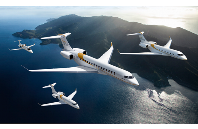 деловые самолеты Bombardier