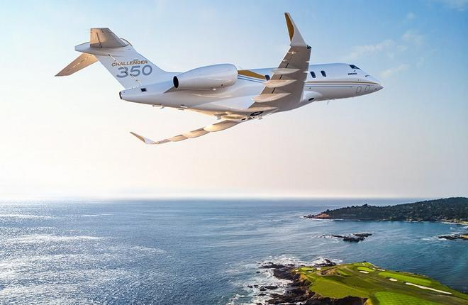 бизнес-джет Bombardier Challenger 350