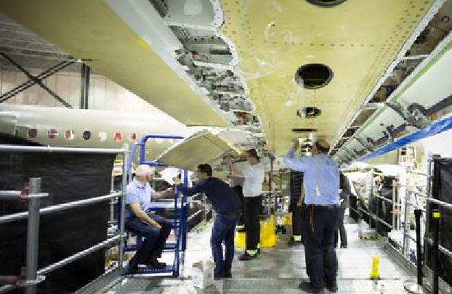 Bombardier подошел к завершающему этапу наземных испытаний самолетов CSeries