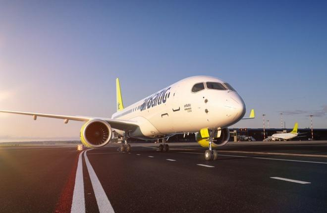 Авиакомпания airBaltic задумалась о получении допуска к C-check CS300