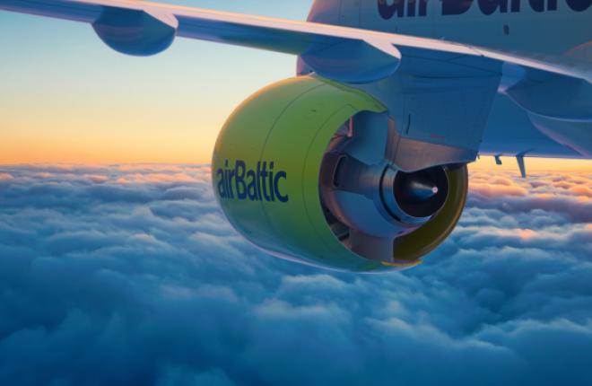 Прибыль airBaltic упала на фоне сокращения доходности перевозок