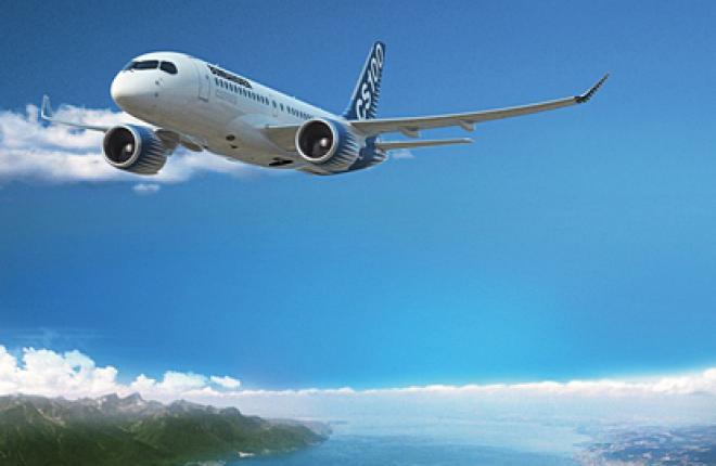 Ильюшин Финанс Ко стала первым заказчиком самолетов Bombardier CSeries в России