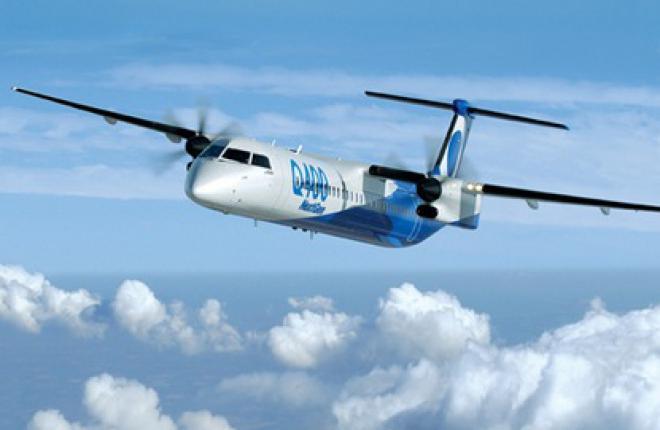Bombardier рассчитывает увеличить продажи турбовинтовых самолетов Q400
