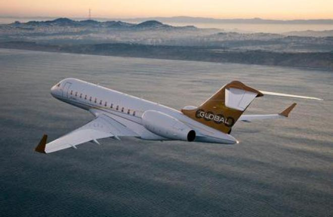 Bombardier снижает темпы производства бизнес-джетов Global 5000 и 6000