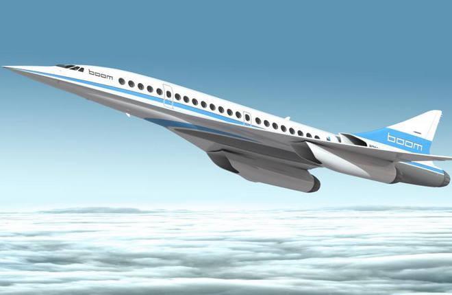 Компьютерная модель самолета XB-1