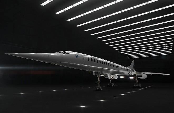 Так будет выглядеть самолет Boom Overture