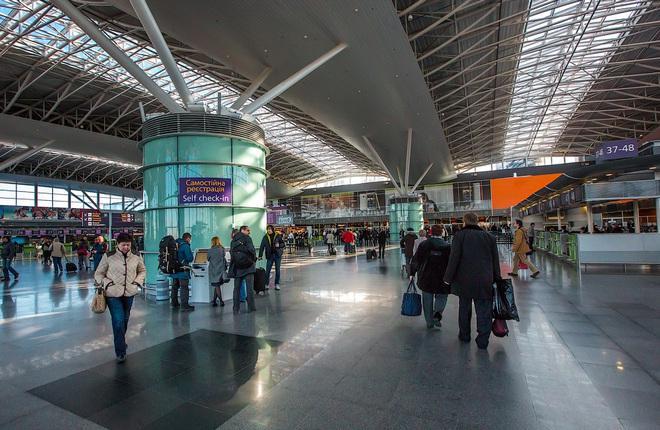 Аэропорт Борисполь в новом году продолжил наращивать пассажиропоток
