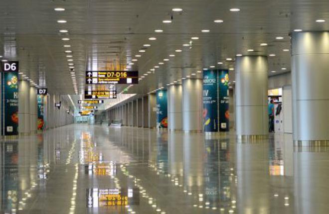 """""""Международные авиалинии Украины"""" продемонстрировали четырехмесячное сокращение пассажиропотока"""