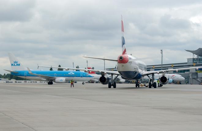 Аэропорт Борисполь сохранил высокие темпы роста