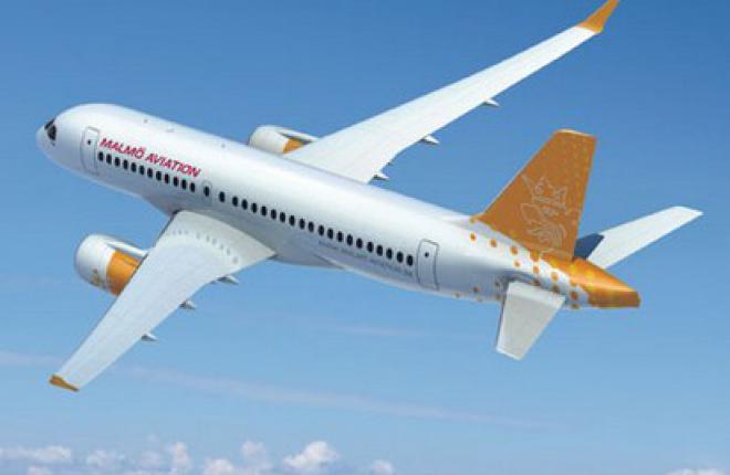 Malmo Aviation стала новым заказчиком Bombardier CSeries