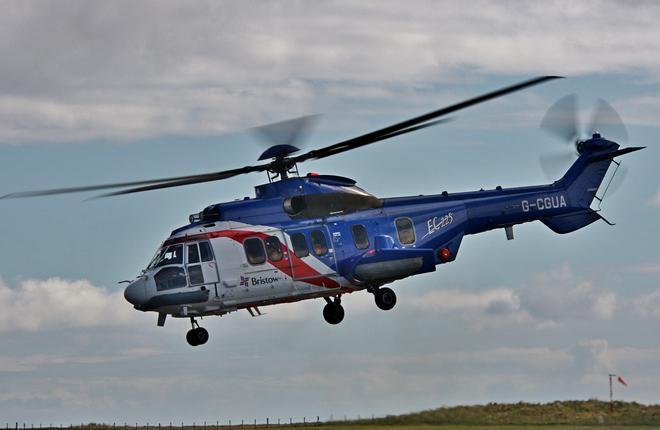 Вертолет EC225 оператора Bristow