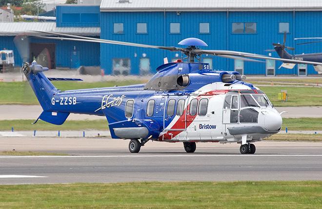 Вертолет EC225LP оператора Bristow Helicopters