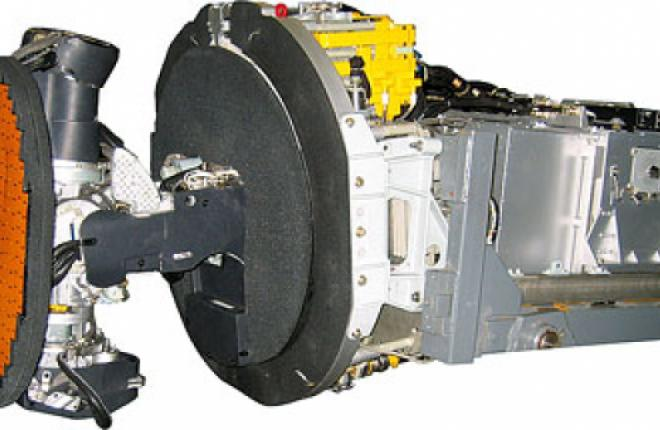 The Zhuk-ME radar installed at MiG-29K fighters
