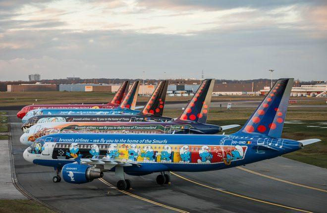 Самолеты авиакомпании Brussels Airlines