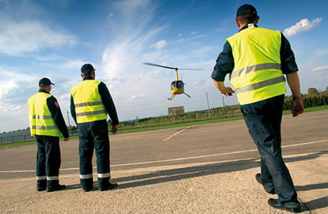 There are about 1,700 helicopter takeoffs and landings every year in Moscow Region now