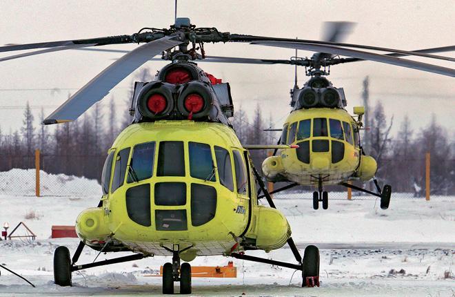 Требования нефтяных компаний вынуждают вертолетных эксплуатантов обновлять свои парки :: Федор Борисов / Transport-Photo.com