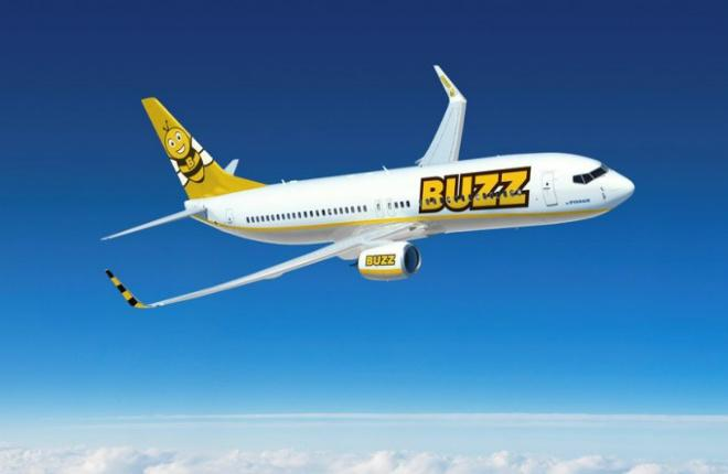 Самолет авиакомпании Buzz